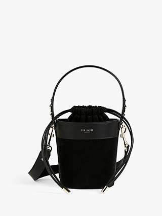 Ted Baker Equesti Equestrian Mini Leather Bucket Bag