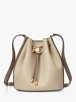 Lauren Ralph Lauren Andie 19 Leather Bucket Bag