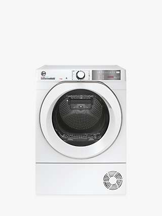 Hoover H-DRY 500 NDEH11RA2TCEXM80 Freestanding Heat Pump Tumble Dryer, 11kg Load, White