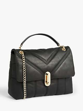 Ted Baker Ayahlin Puffer Quilted Leather Cross Body Bag