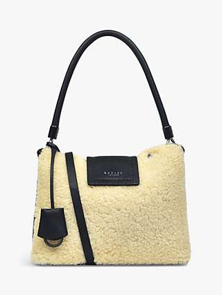 Radley Chelsea Creek Small Shearling Leather Multiway Bag, Black