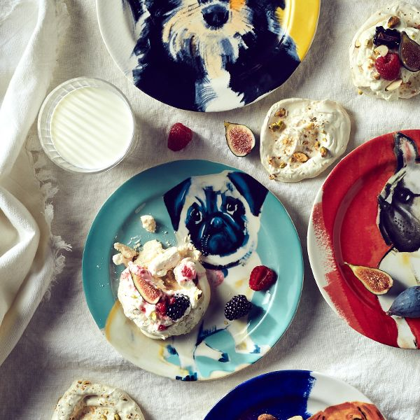 Anthropologie Sally Muir Dog-a-Day Dining Range