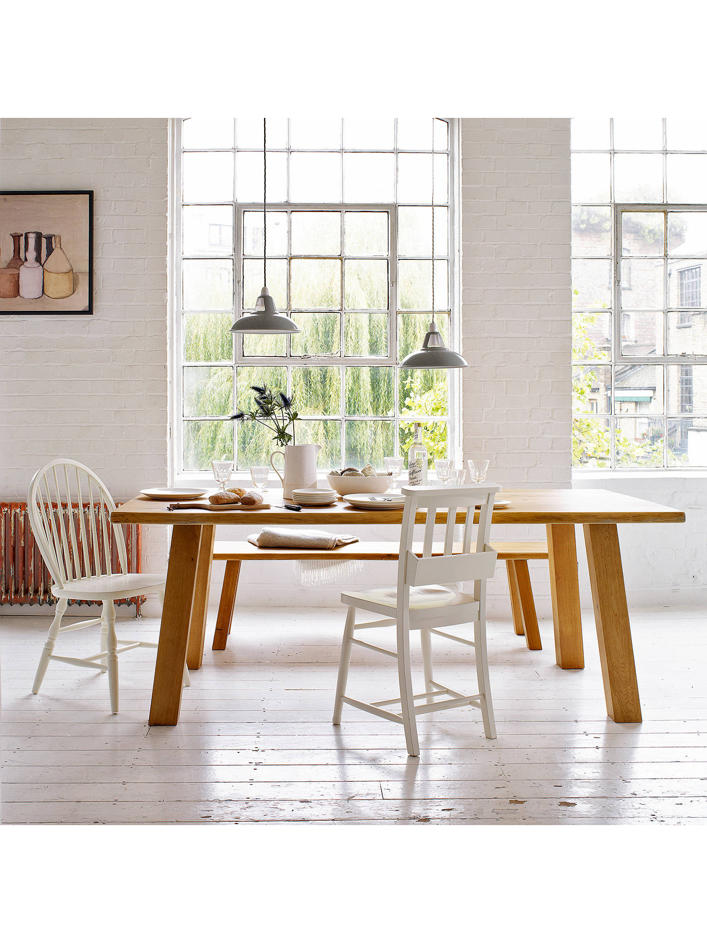 John Lewis Croft Collection Glendale 6 Seater Dining Table ...