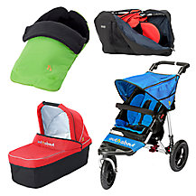 Out 'N' About Nipper 360 Single V4 Pushchair & Accessories Range