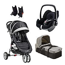 Baby Jogger City Mini 3 Wheel Pushchair & Accessories Range