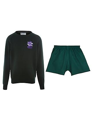 Parkgate House School Boys' Reception, Pre-Prep 1 & Pre-Prep 2 Autumn and Spring Term Indoor Sports Kit