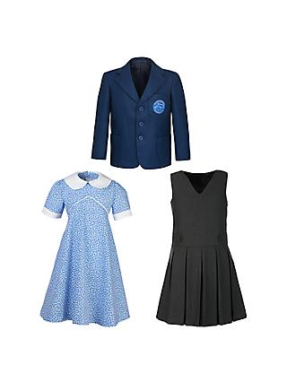 Dolphin School Girls' Lower School Uniform (Reception, Years 1 & 2)