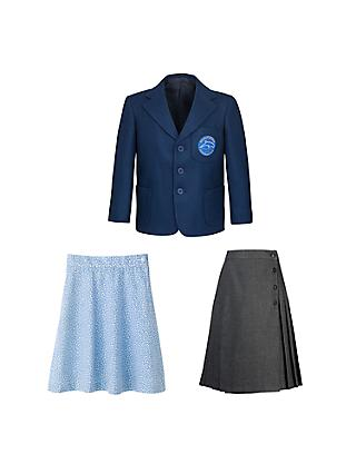 Dolphin School Girls' Upper School Uniform (Years 3, 4, 5 and 6)