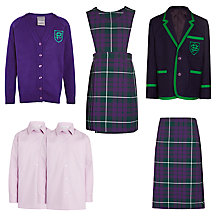 Buy The Pointer School Girls' Reception to Year 6 Winter Uniform Online at johnlewis.com
