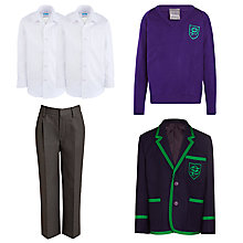 Buy The Pointer School Boys' Reception to Year 6 Winter Uniform Online at johnlewis.com