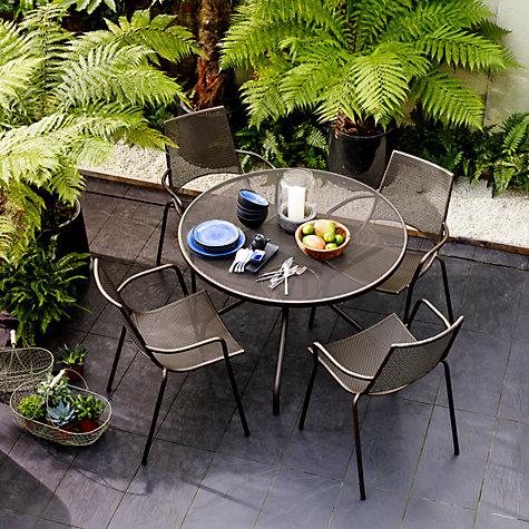 Buy John Lewis Ala Mesh 4 Seater Table   Chairs Dining Set Online at  johnlewis. Buy John Lewis Ala Mesh 4 Seater Table   Chairs Dining Set   John