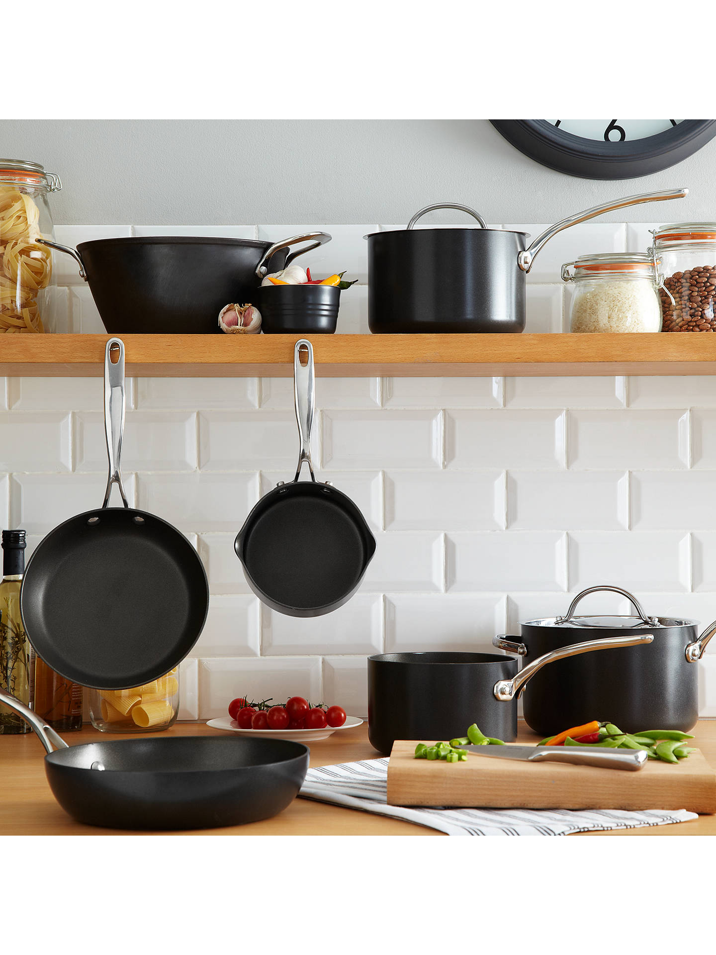simply perfect by raymond blanc hard anodised skillet dia. Black Bedroom Furniture Sets. Home Design Ideas