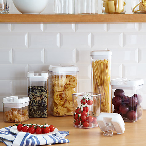 Buy John Lewis Flip-Tite Tall Storage Container, 0.8L Online at johnlewis.com