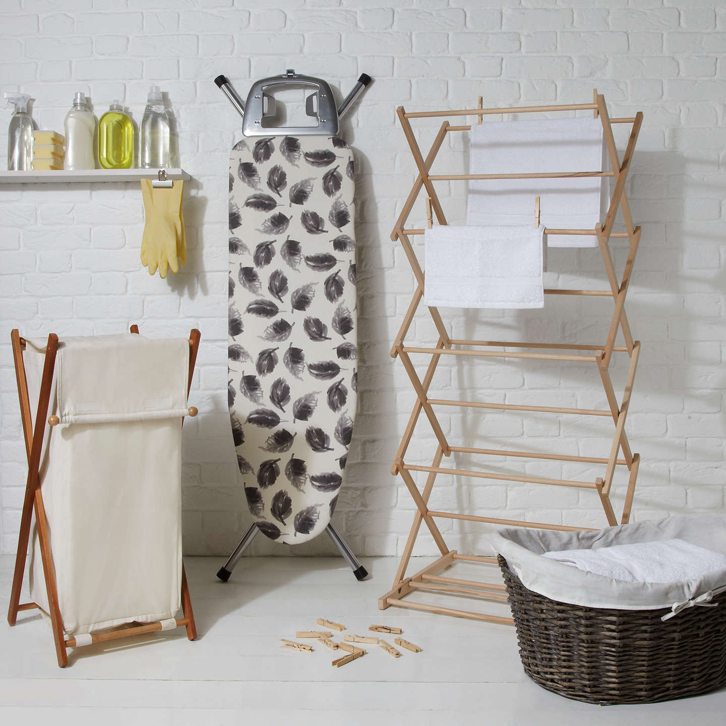 BuyJohn Lewis Laundry Hamper Online at johnlewis.com