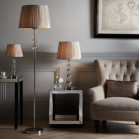 Buy John Lewis Lavinia Glass Ball Table Lamp, Clear Online at johnlewis.com