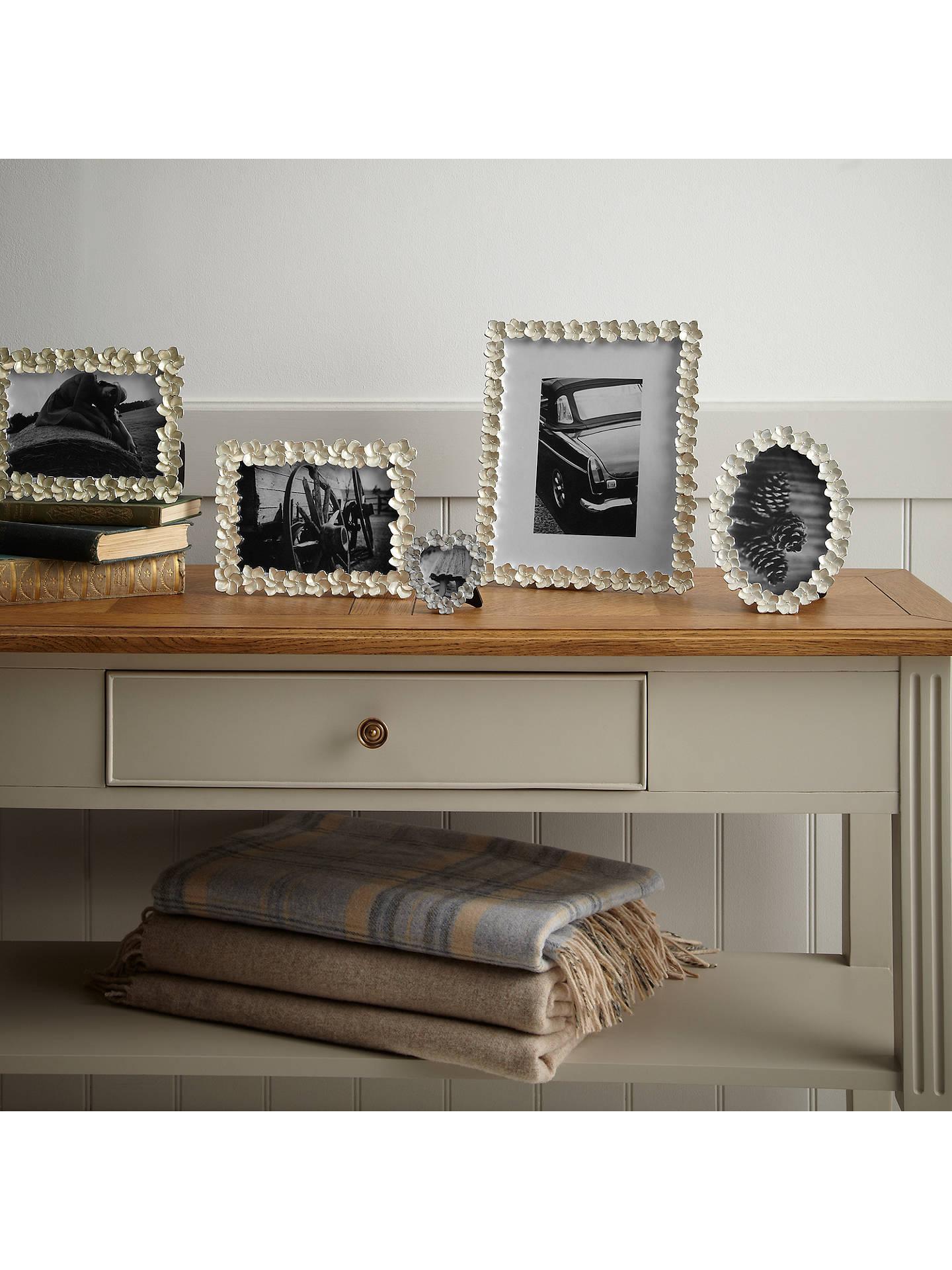 John Lewis Partners Petal Photo Frame Ivory 8 X 10 20 X 25cm