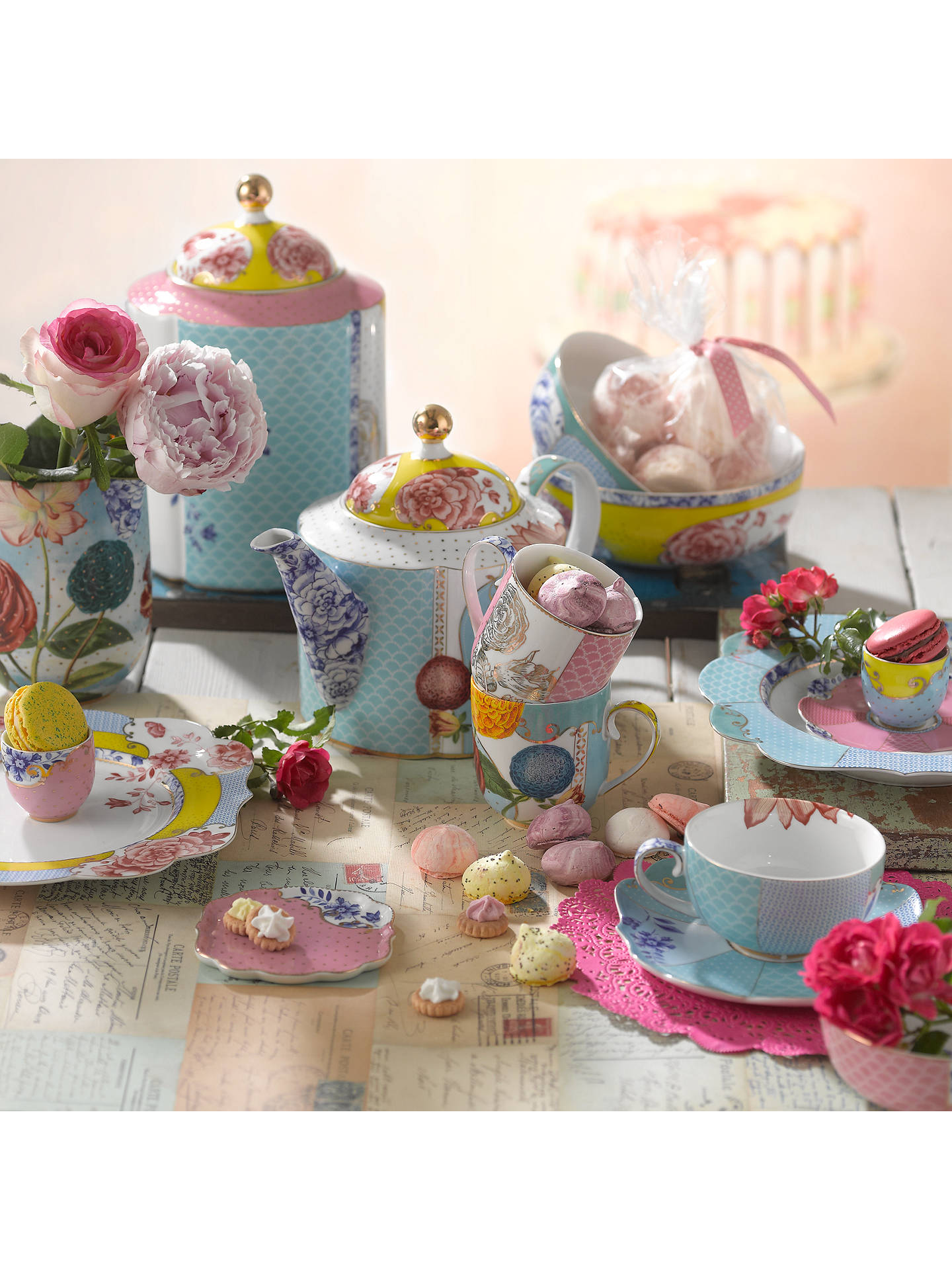 Pip Studio Royal Tea Cup Saucer Limited Edition Online At Johnlewis