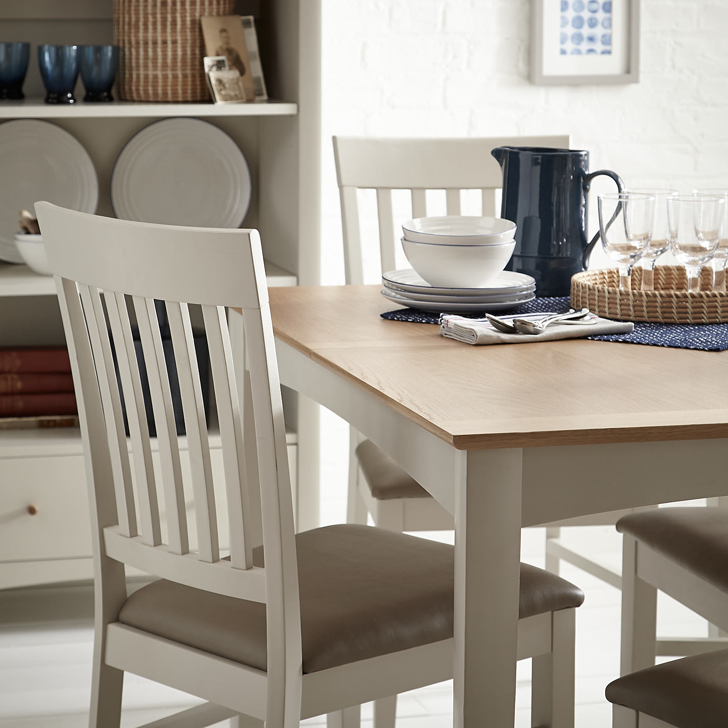 John Lewis Kitchen Furniture Buy John Lewis Alba Slat Back Dining Chair John Lewis