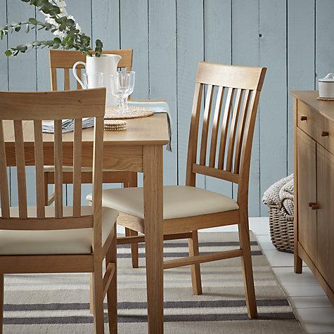 Buy John Lewis Alba Slat Back Dining Chair Online At Johnlewis