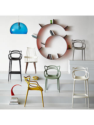 Buy Philippe Starck for Kartell Masters Bar Chair, White Online at johnlewis.com