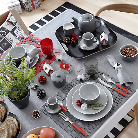 Buy House by John Lewis Vero Red Teaspoon Online at johnlewis.com