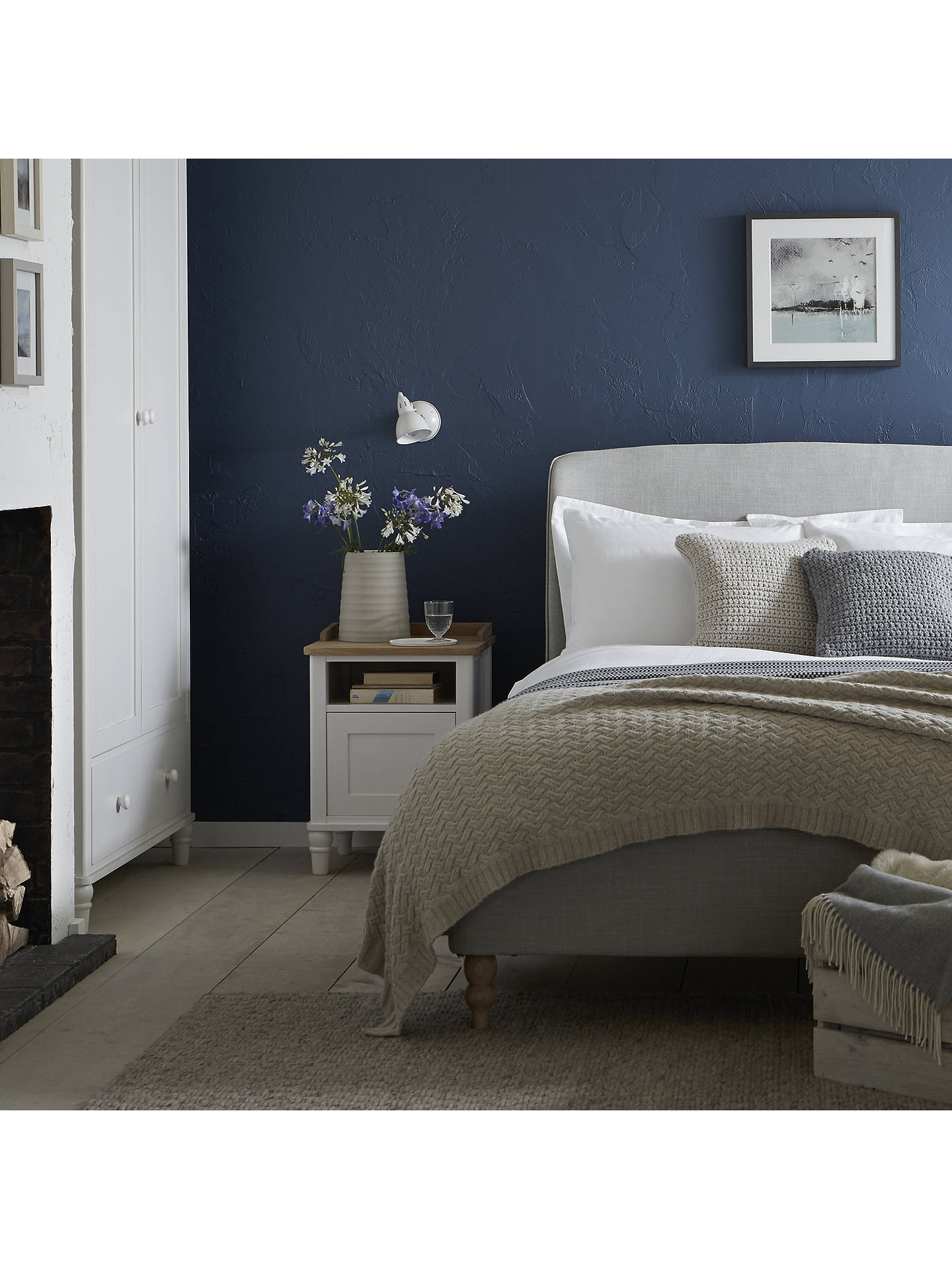 4b4607708b42 Buy Croft Collection Skye Bed Frame, Super King Size, Grey Online at  johnlewis.