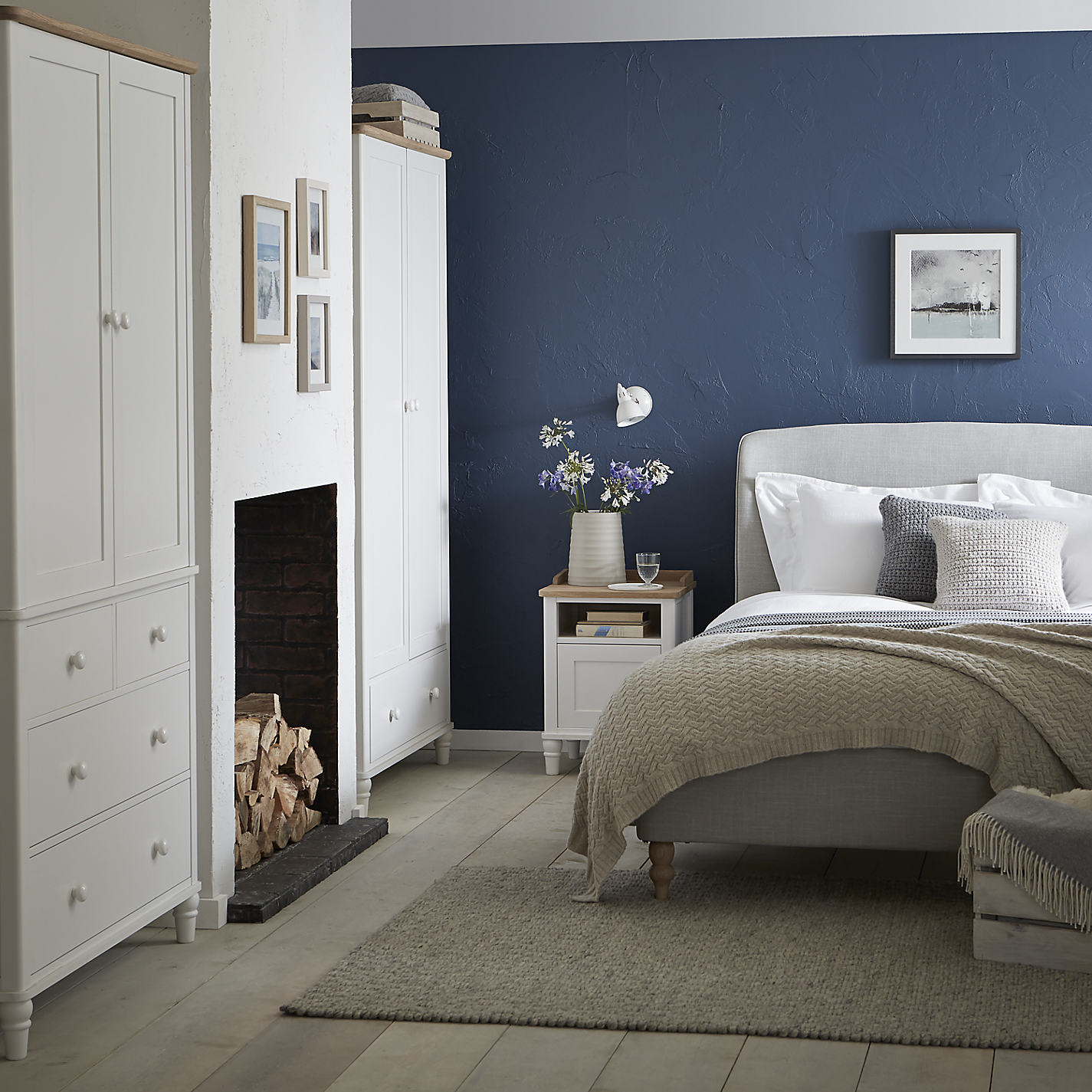 Bedroom Furniture John Lewis buy john lewis croft collection skye bed frame, double | john lewis