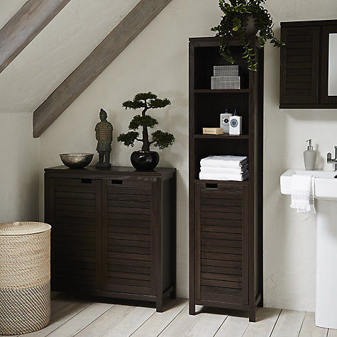 Buy John Lewis Bali Bathroom Tallboy | John Lewis