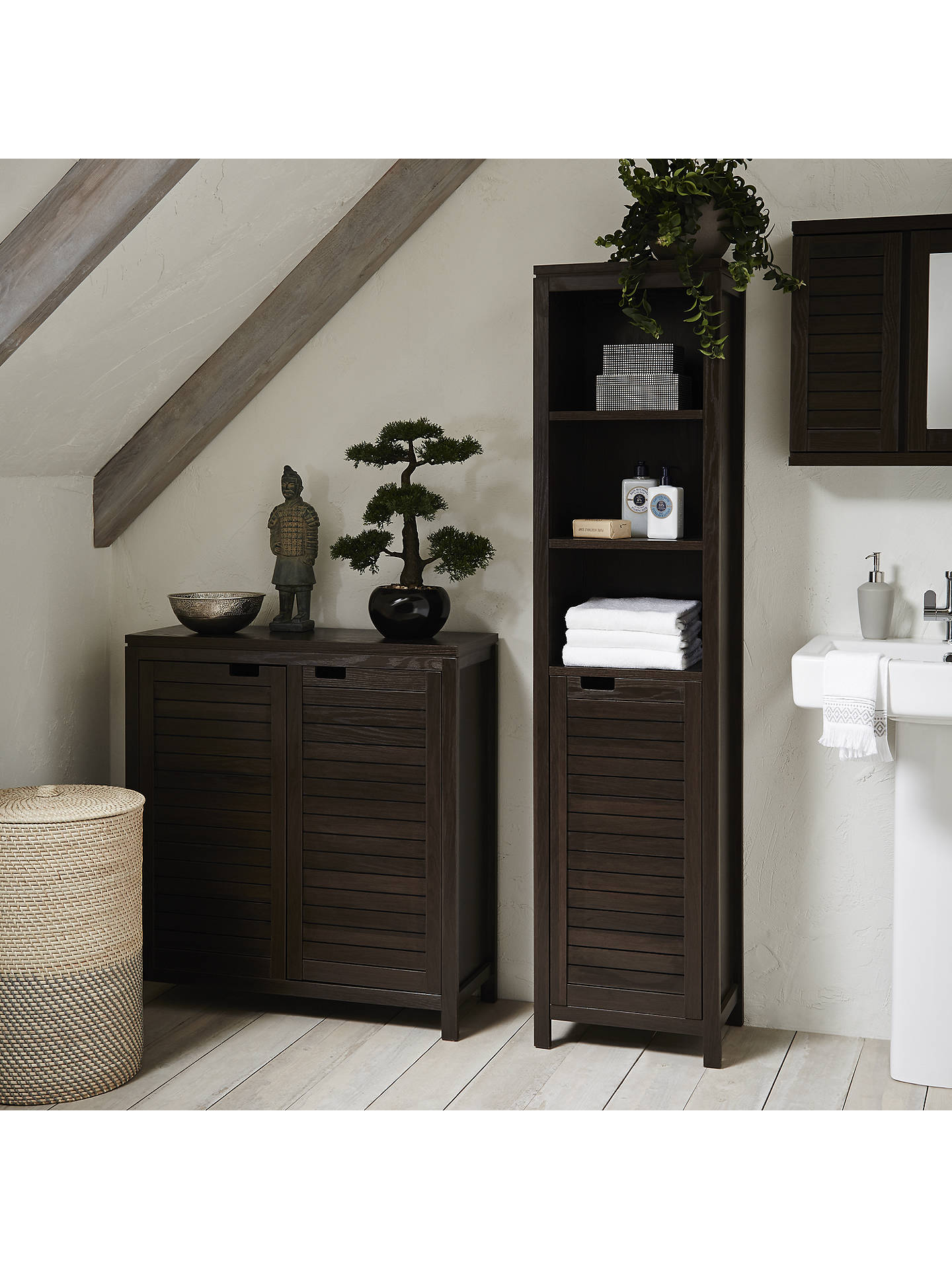 John Lewis Partners Bali Double Towel Cupboard At John Lewis Partners