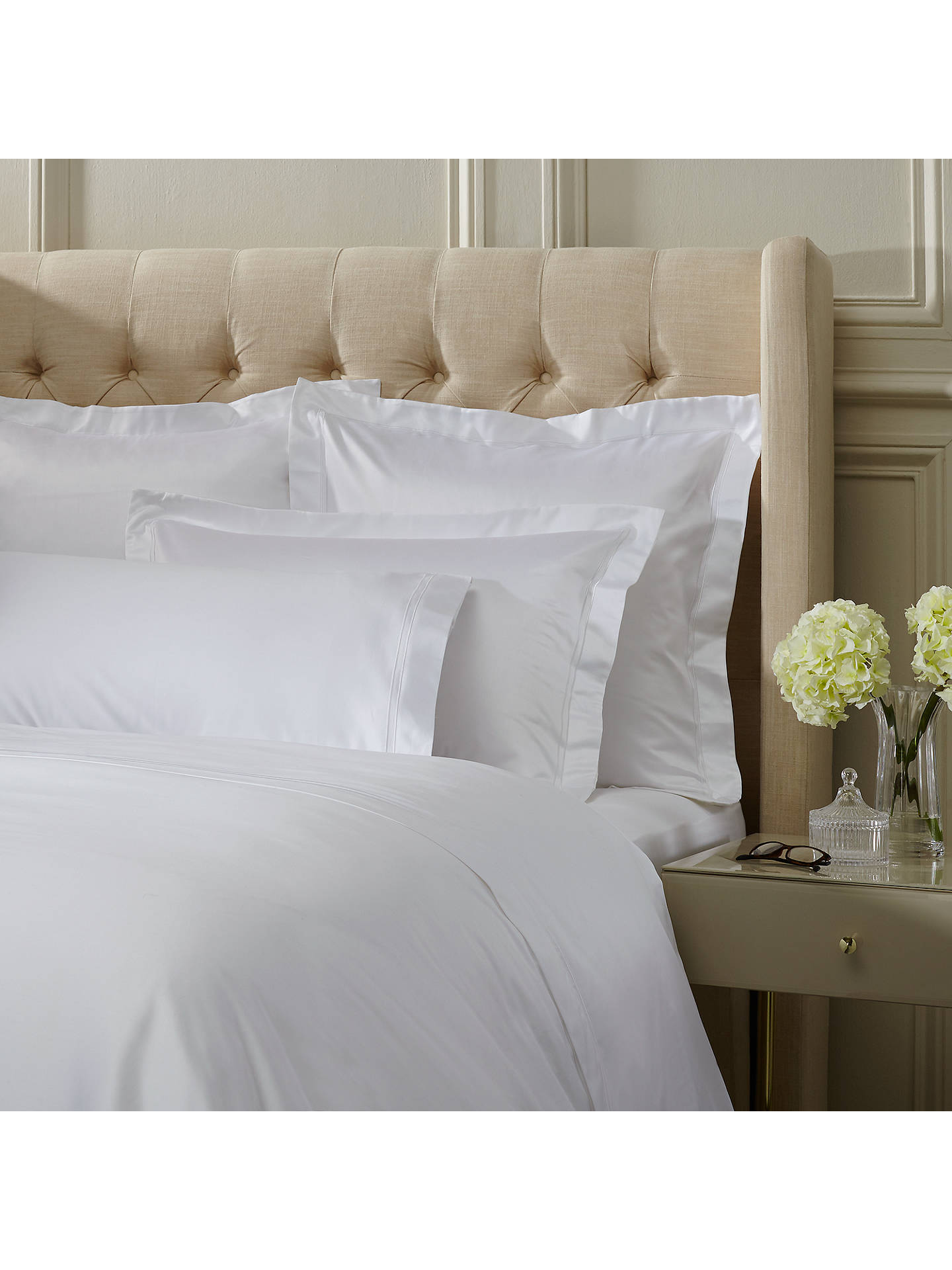 ... BuyJohn Lewis U0026 Partners The Ultimate Collection 1000 Thread Count  Egyptian Cotton Standard Pillowcase, White