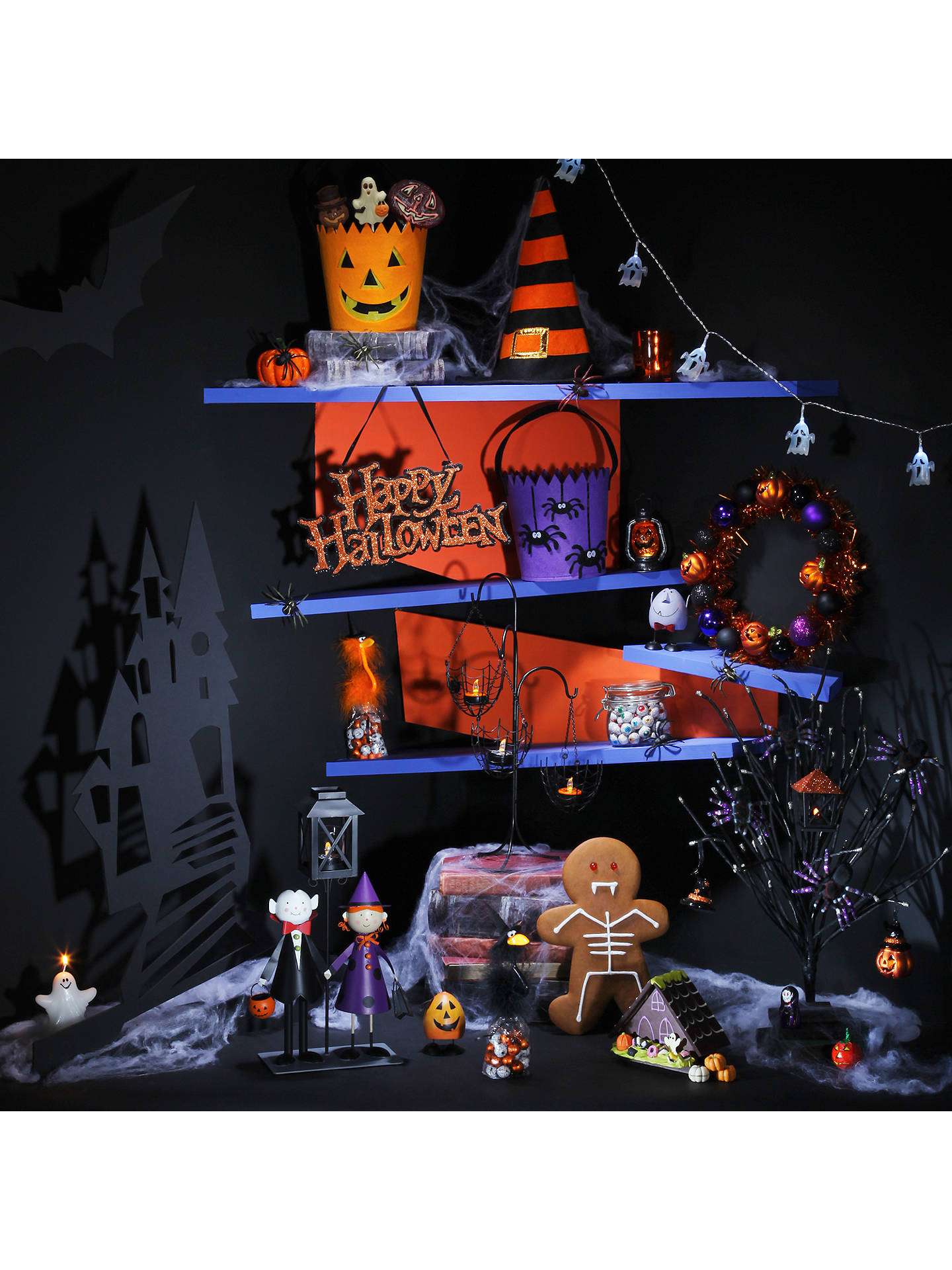 Buy John Lewis Halloween Wreath Online at johnlewis.com