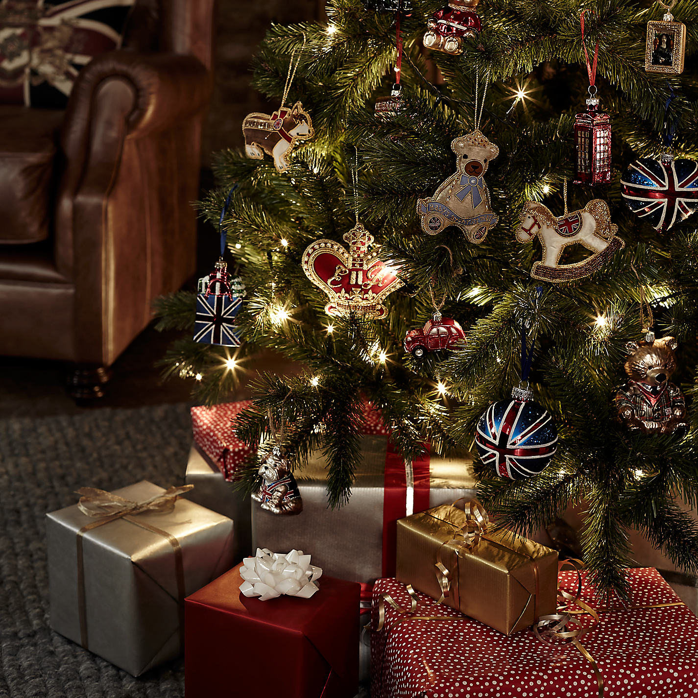 ... Buy John Lewis Tourism Union Jack Bauble Online at johnlewis.com ...