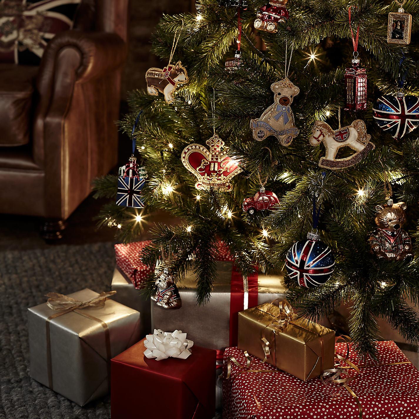 Union jack christmas decorations John lewis christmas ornaments