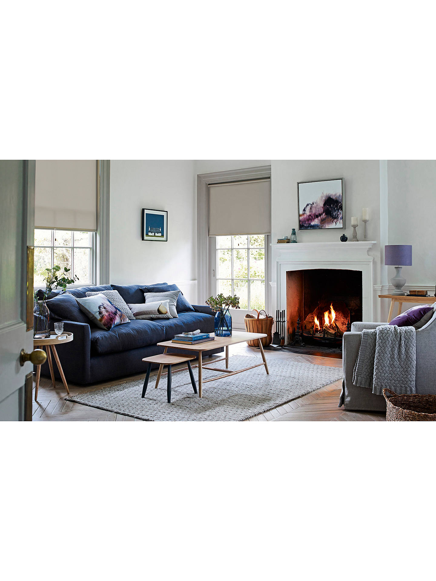 fb2f1c935fc7 ... Buy Croft Collection Melrose Fixed Cover Medium 2 Seater Sofa Online at  johnlewis.com