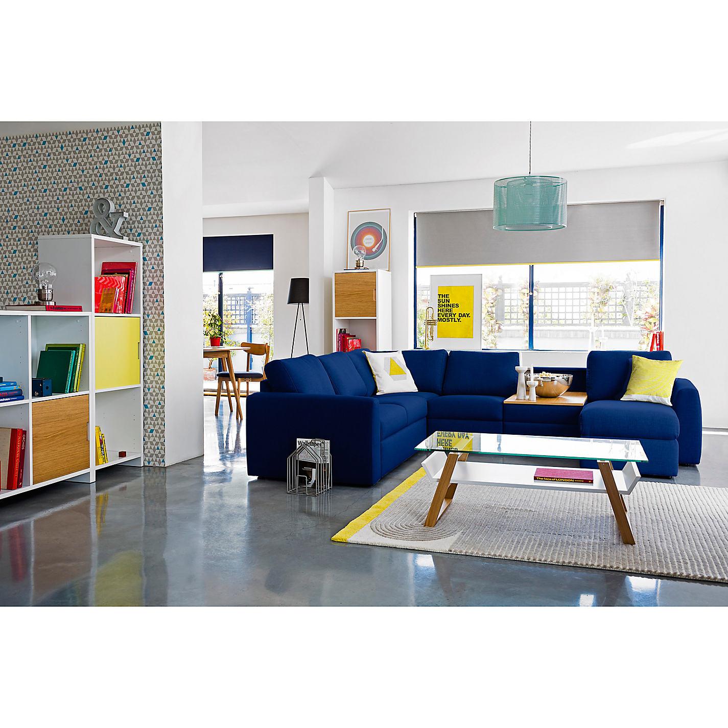 John Lewis Living Room Buy House By John Lewis Airframe Glass Coffee Table John Lewis