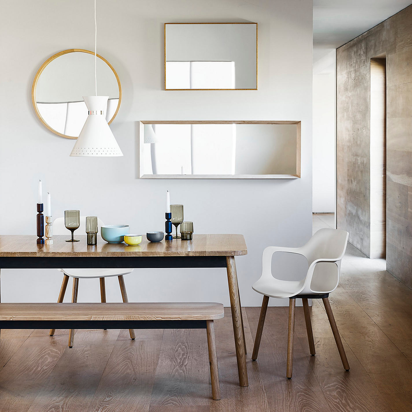 Buy John Lewis Scandi Mirror Range Online At Johnlewis