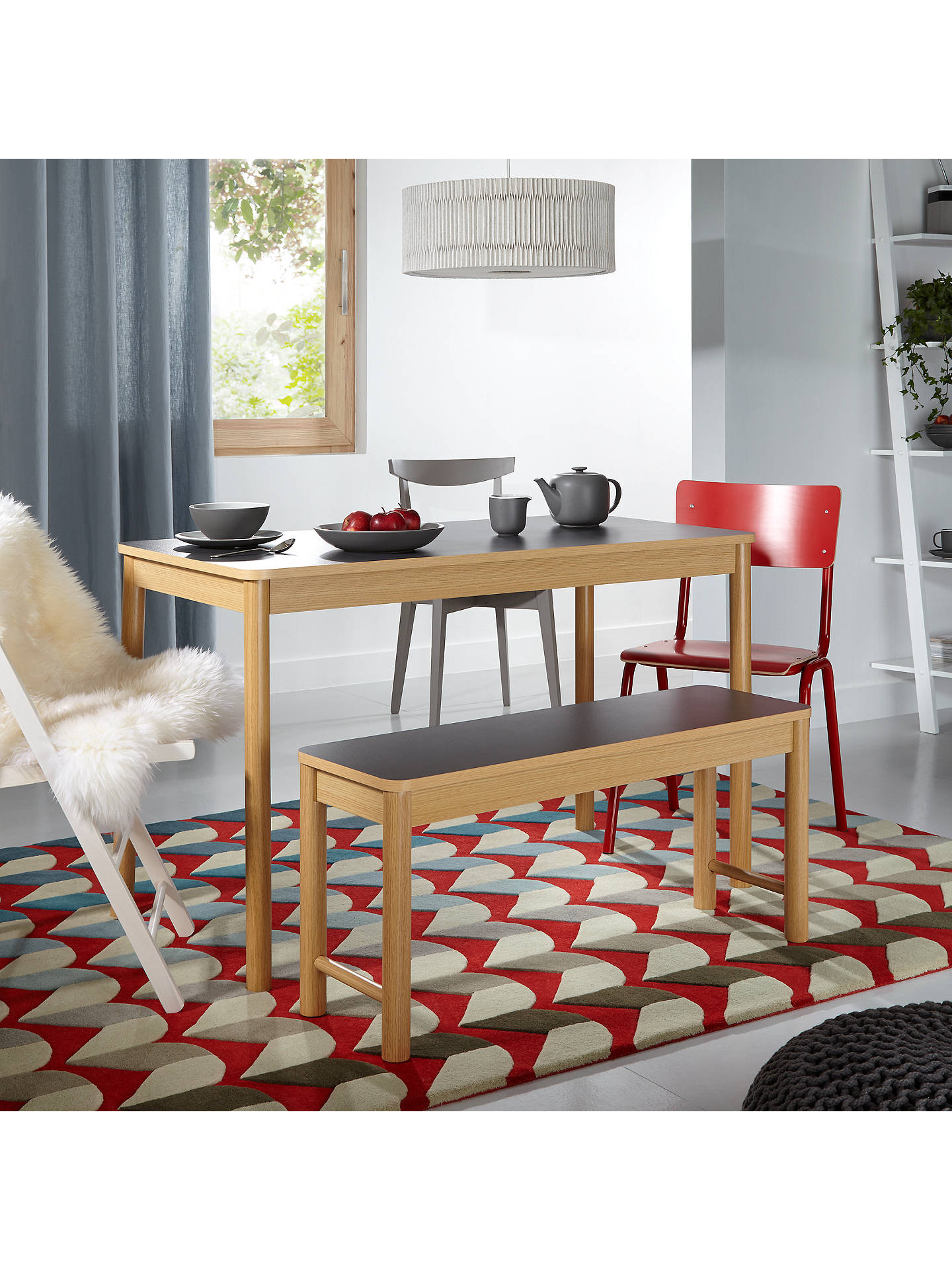 Pleasing John Lewis Peyton 3 Seater Dining Bench Theyellowbook Wood Chair Design Ideas Theyellowbookinfo