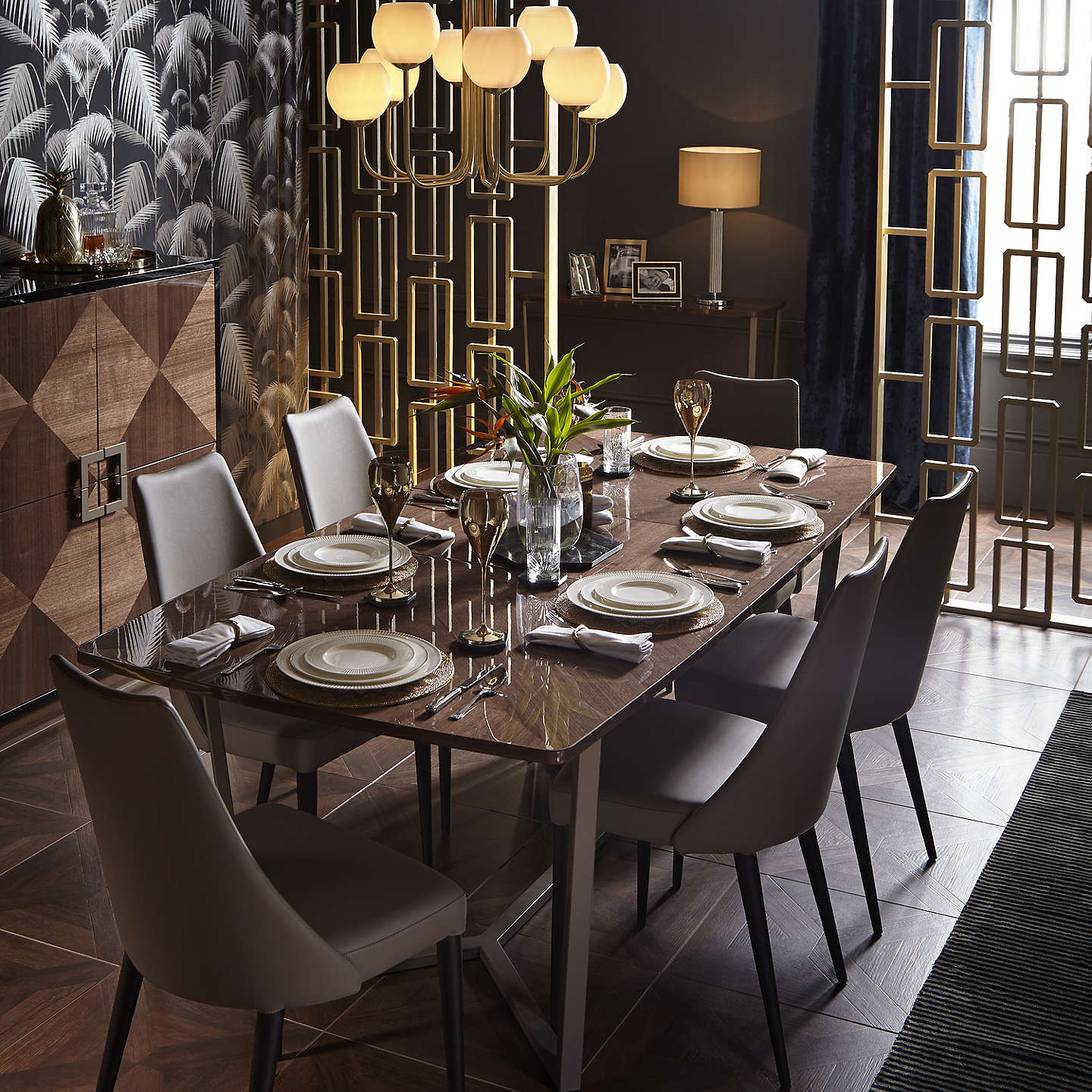 John Lewis Puccini Dining Chair Taupe At John Lewis