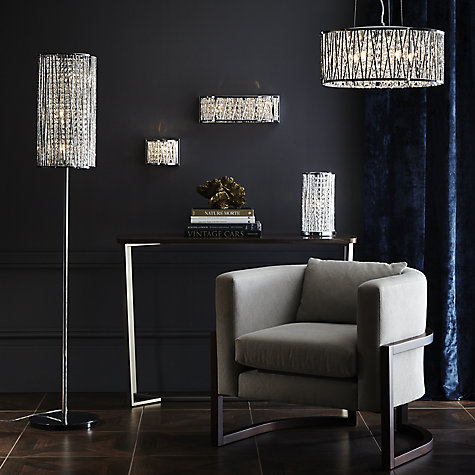 Bathroom Mirror Lights John Lewis buy john lewis emilia drum crystal pendant light | john lewis