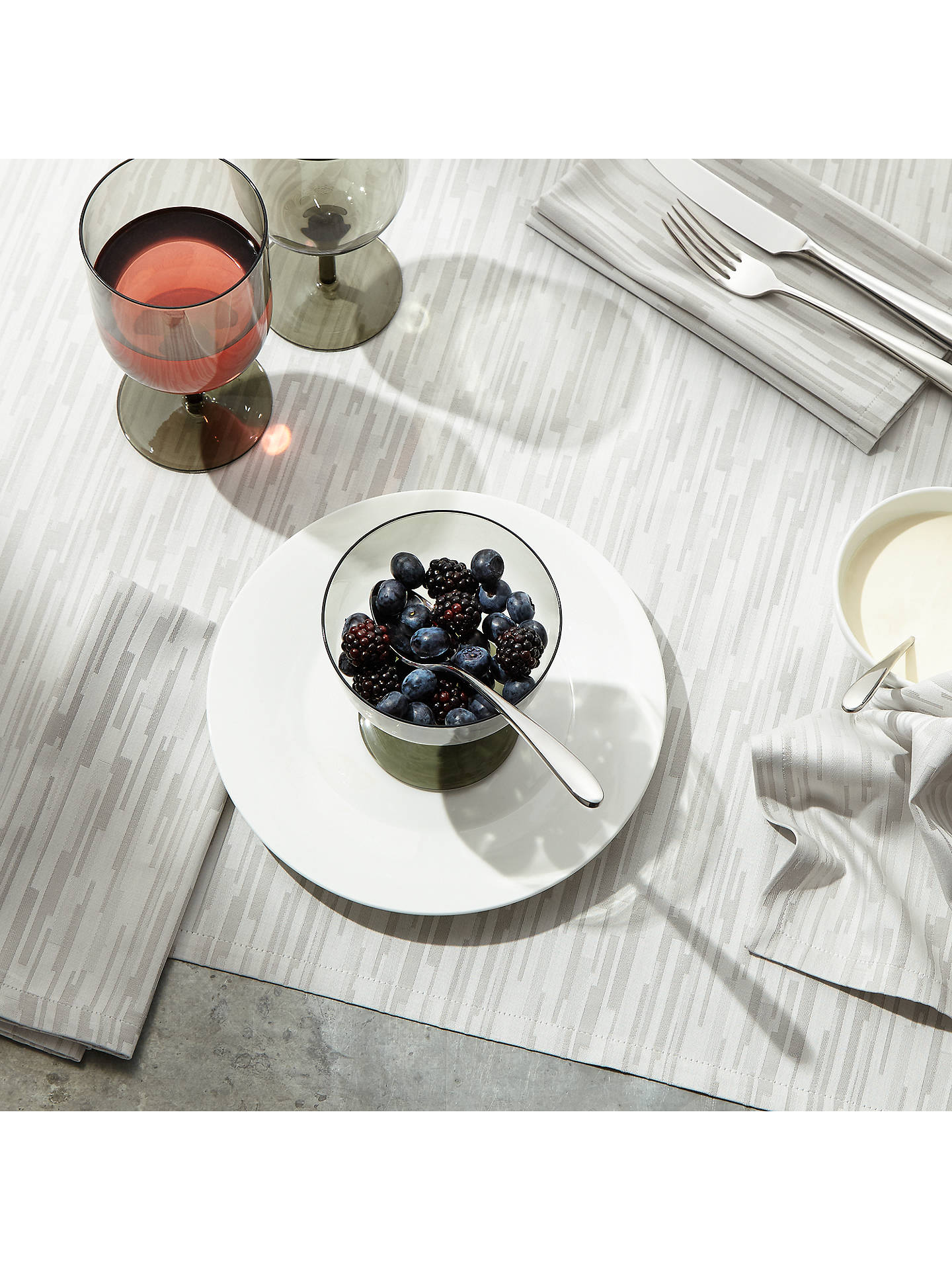 BuyJohn Lewis & Partners Outline Dessert Spoon Online at johnlewis.com