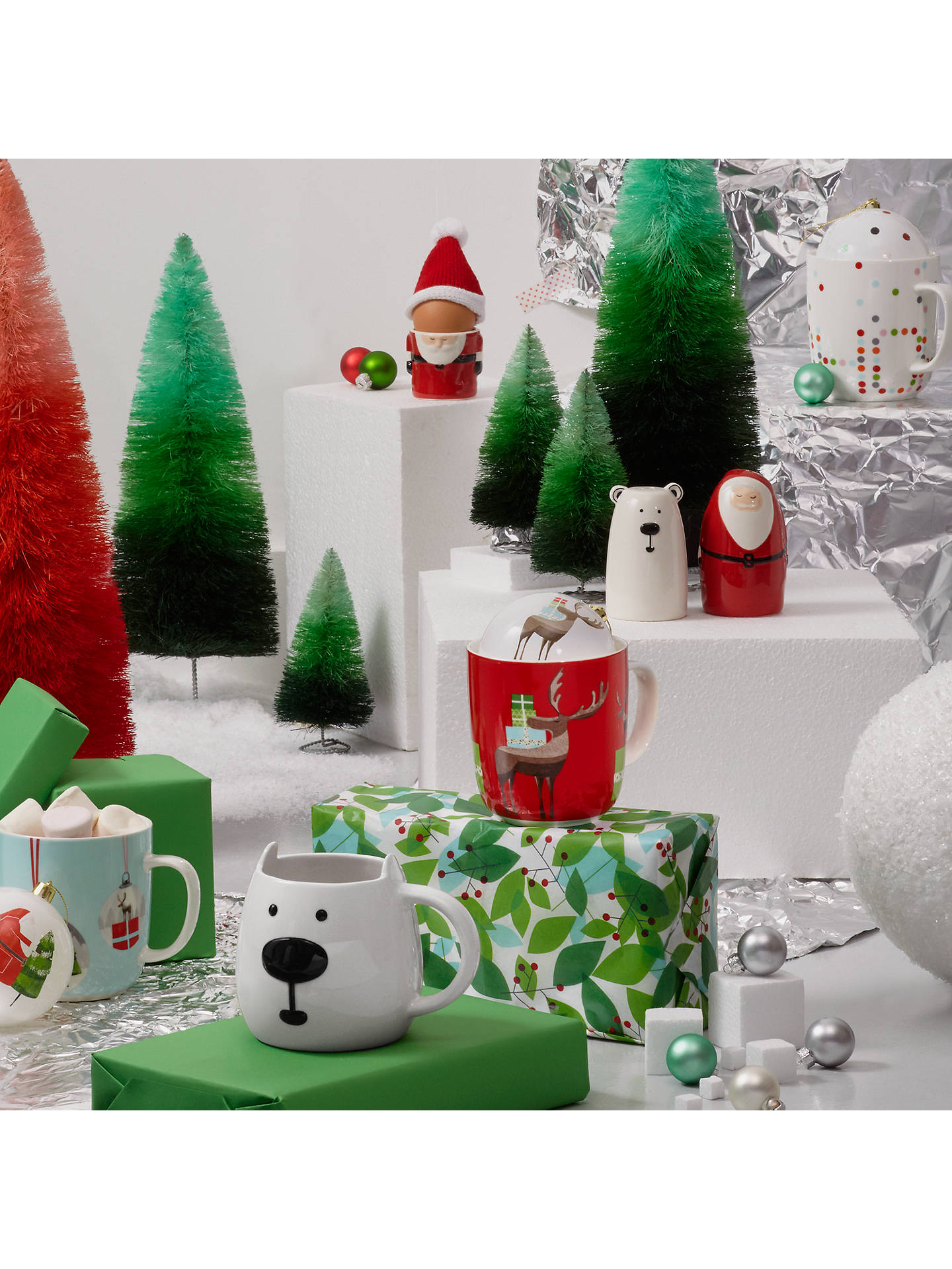 BuyJohn Lewis 3D Polar Bear Mug Online at johnlewis.com