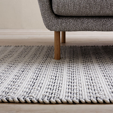 Design Project By John Lewis No 090 Rug Black White Online At