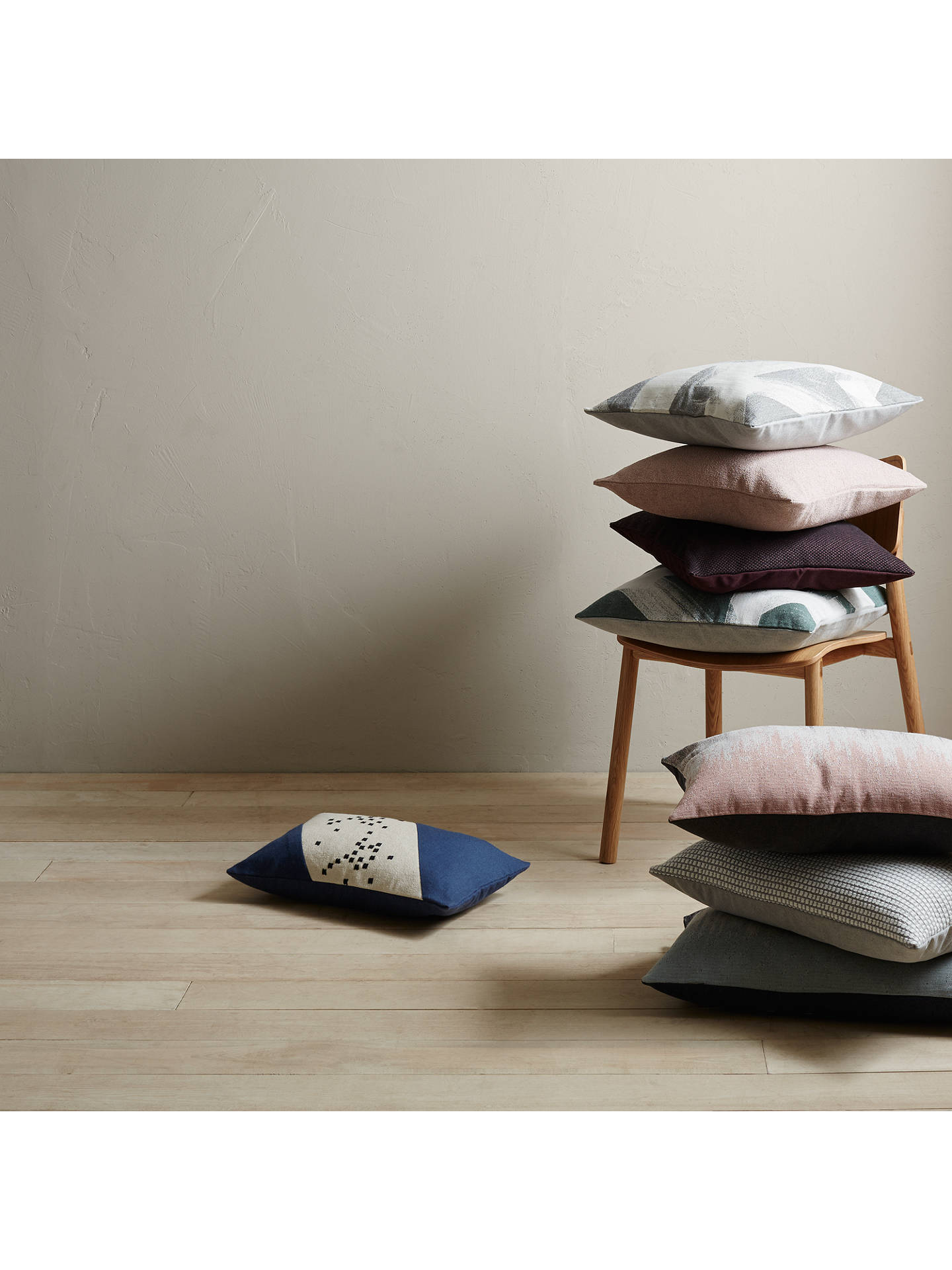 BuyDesign Project by John Lewis No.016 Cushion, Plaster Online at johnlewis.com