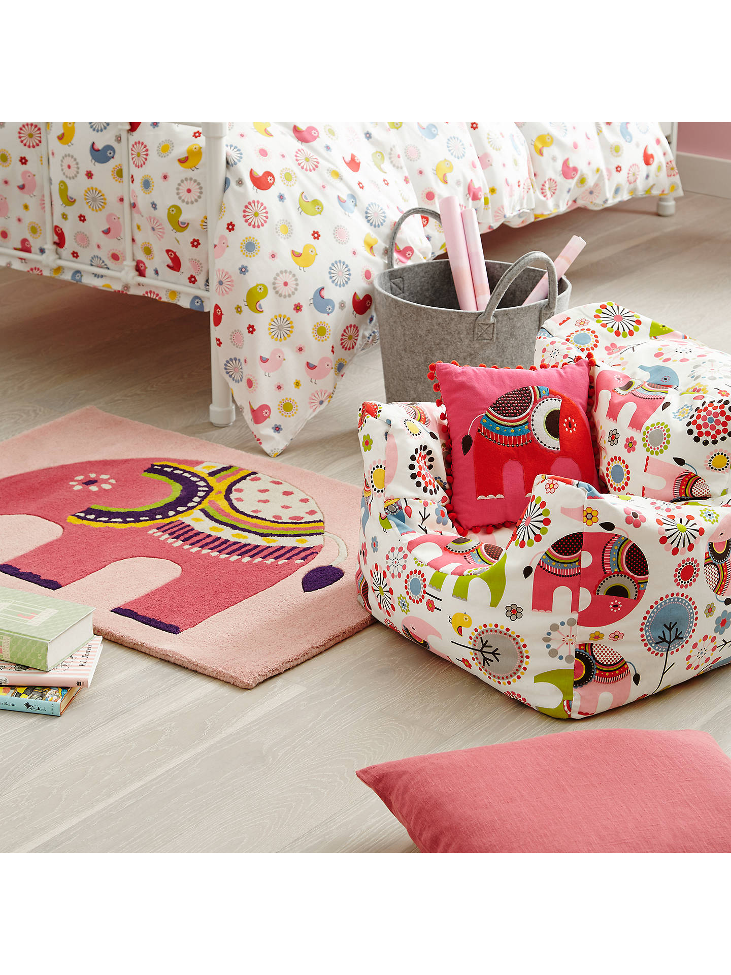 Little Home At John Lewis Abbey Elephant Bean Bag Chair At
