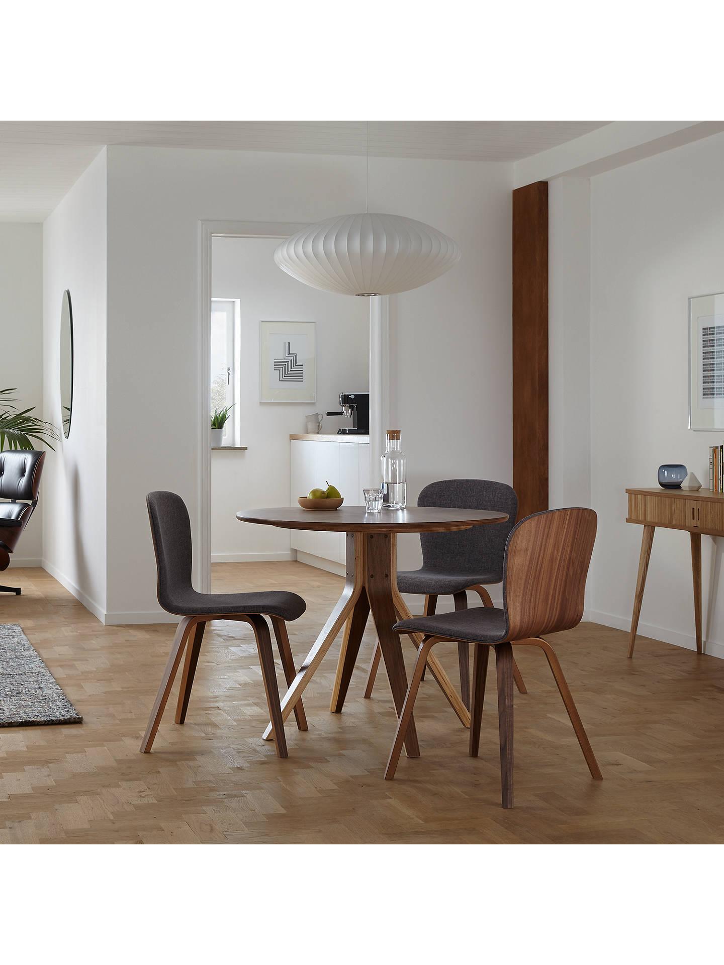 BuyHouse By John Lewis Radar 4 Seater Round Dining Table, Walnut Online At  Johnlewis.