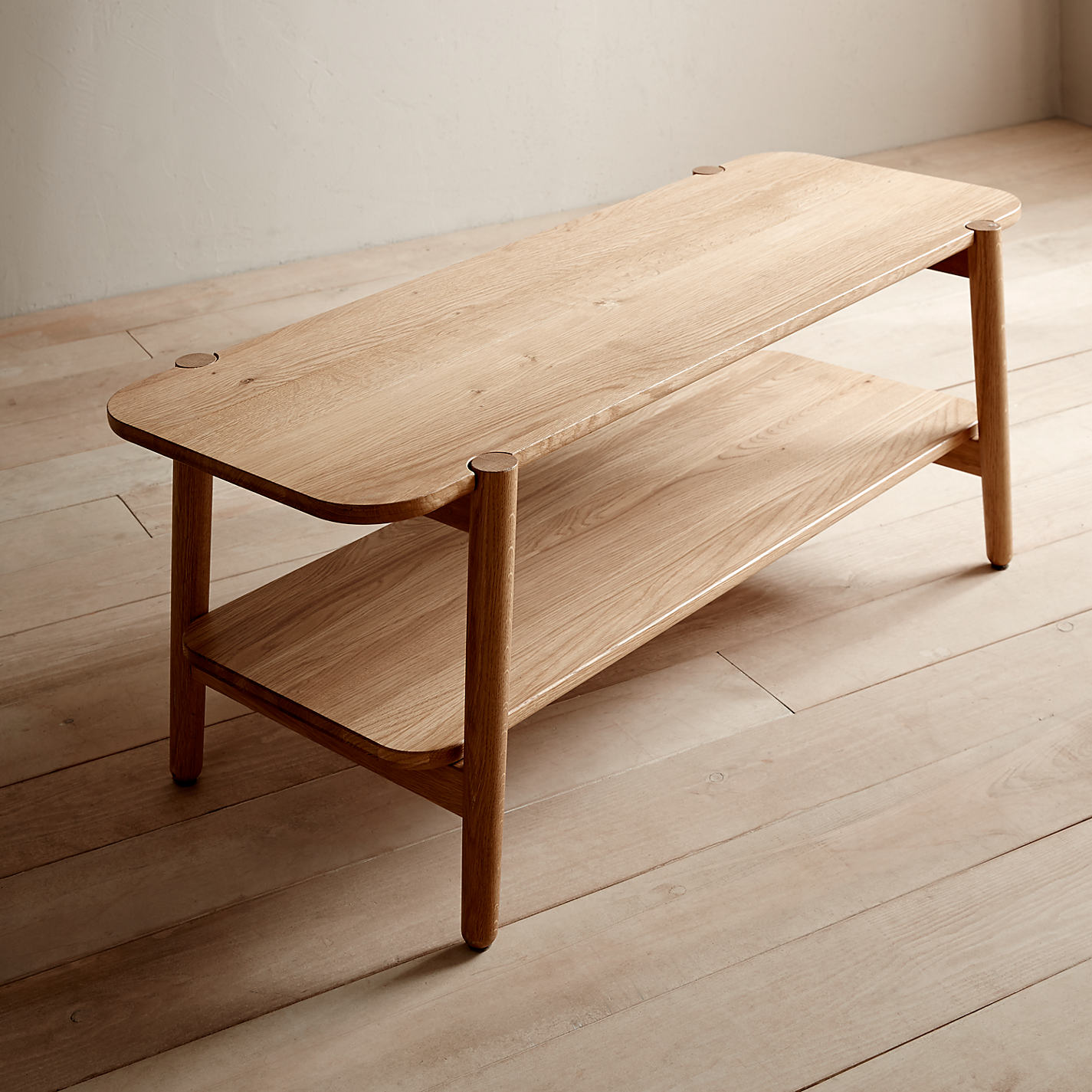 Buy Design Project By John Lewis No 022 Coffee Table Oak John Lewis # Meuble Tv John