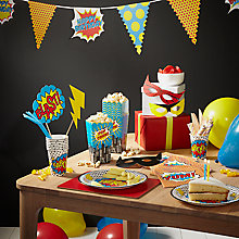 Buy Superhero Party Range Online at johnlewis.com