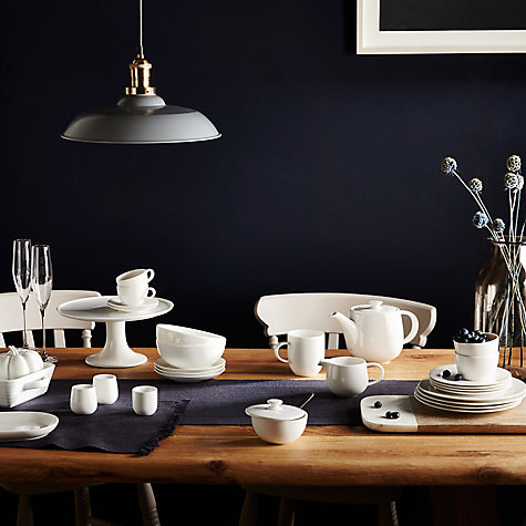 Buy John Lewis Croft Collection Luna 27.5cm Dinner Plate Online at johnlewis.com