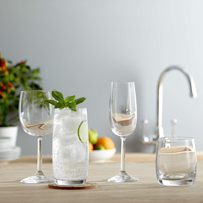 house by john lewis drink white wine glasses set of 4 at. Black Bedroom Furniture Sets. Home Design Ideas