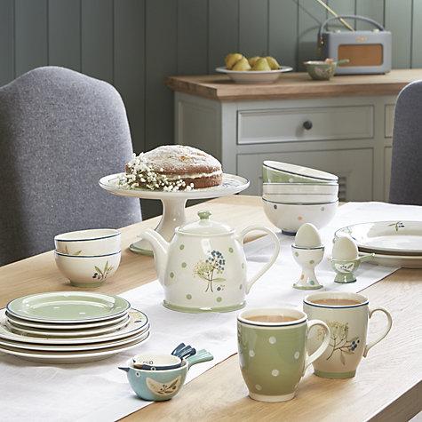 buy john lewis hazlemere flower footed cake stand john lewis. Black Bedroom Furniture Sets. Home Design Ideas